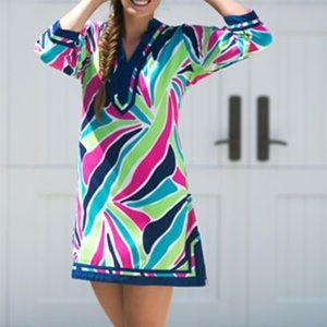 Escapada 3/4 Sleeve MiMi Tunic Dress